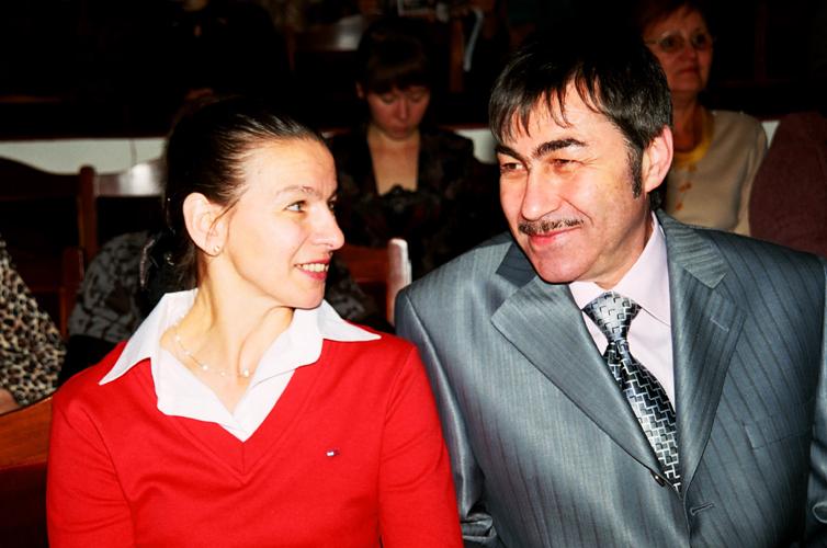 Наталья Высочина (Гусева), Валерий Грунер. Фото Сергея Копышко