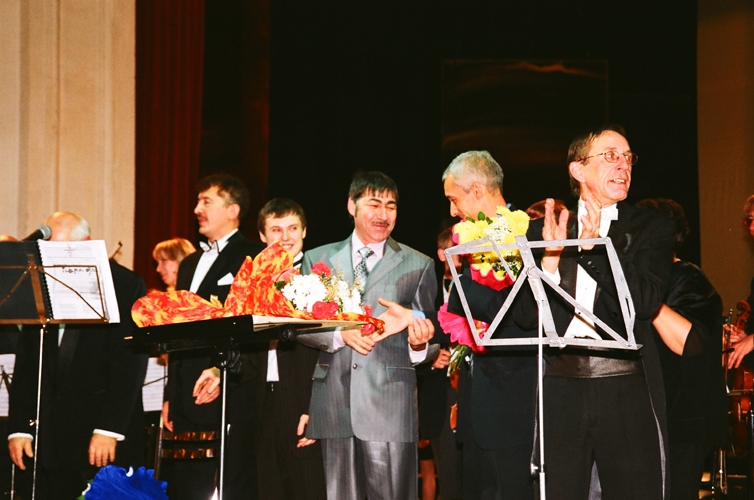 Владимир Тайсаев, Виталий Коваленко, Валерий Грунер, Владимир Никитенков, Валерий Платонов. Фото Сергея Копышко