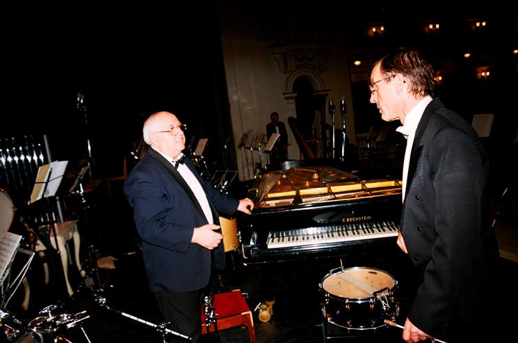 Валентин Голицын, Валерий Платонов. Фото Сергея Копышко