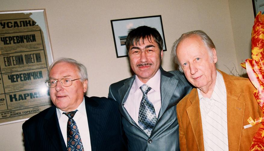 Йоахим Грунер, Валерий Грунер, Алексей Муравлев. Фото Сергея Копышко