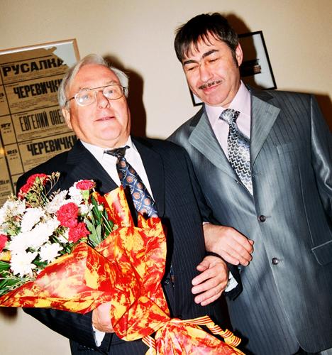 Йоахим Грунер, Валерий Грунер. Фото Сергея Копышко