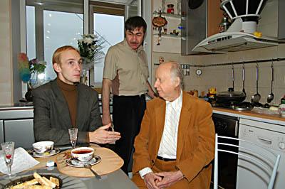 Алексей Мелентьев, Валерий Грунер, Алексей Муравлев